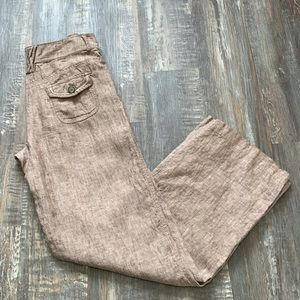 OLSEN 100% linen pants great condition